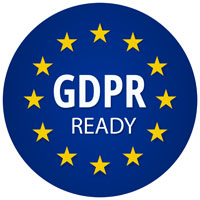 Compliance Certification for GDPR Ready.
