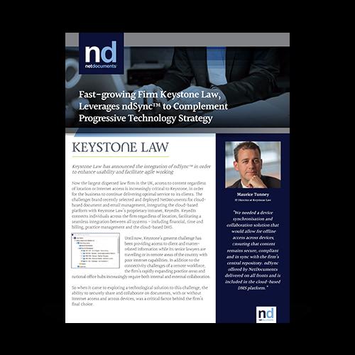 Keystone Law Case Study Graphic