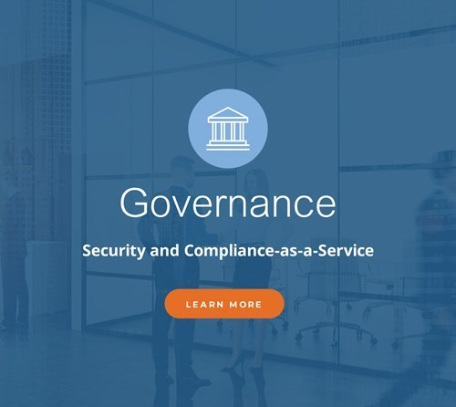 Ad graphic for NetDocuments Governance.