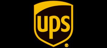 UPS company logo.