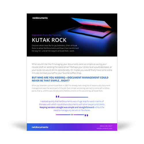 Kutak Rock Case Study Graphic