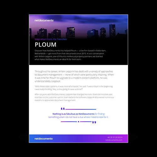 Graphic for Case Study of Ploum.