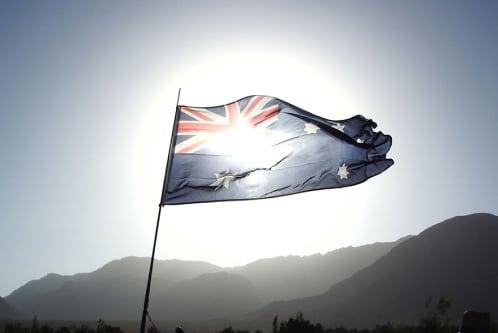 AVOB Australia Flag
