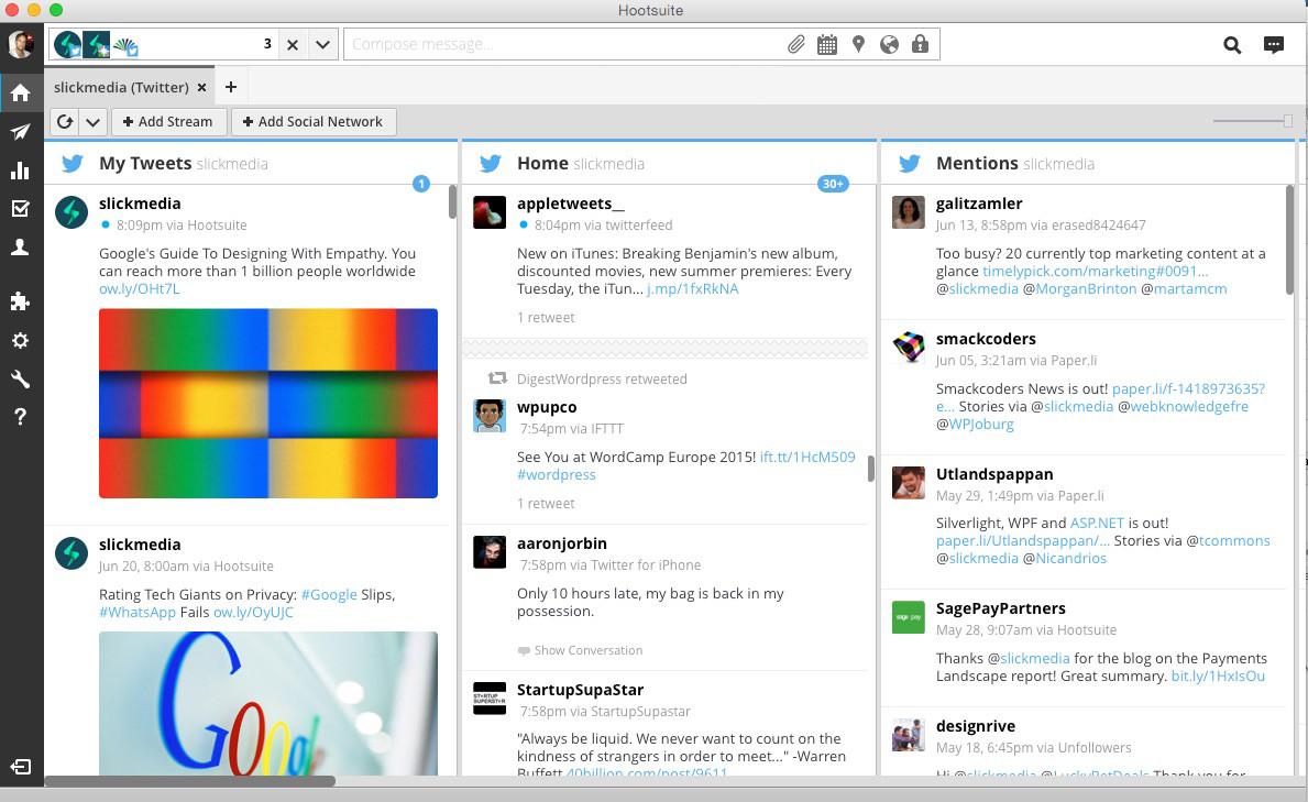 How to create Hootsuite Desktop App