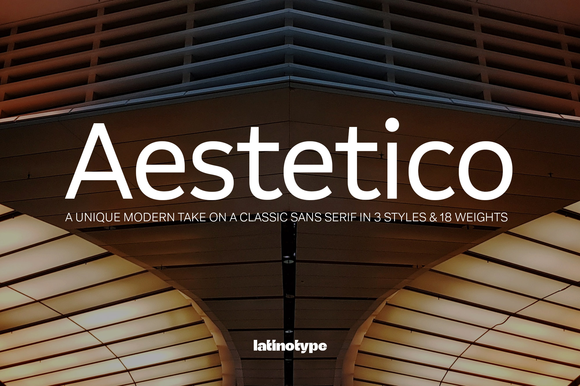 Aestetico Font by Latinotype