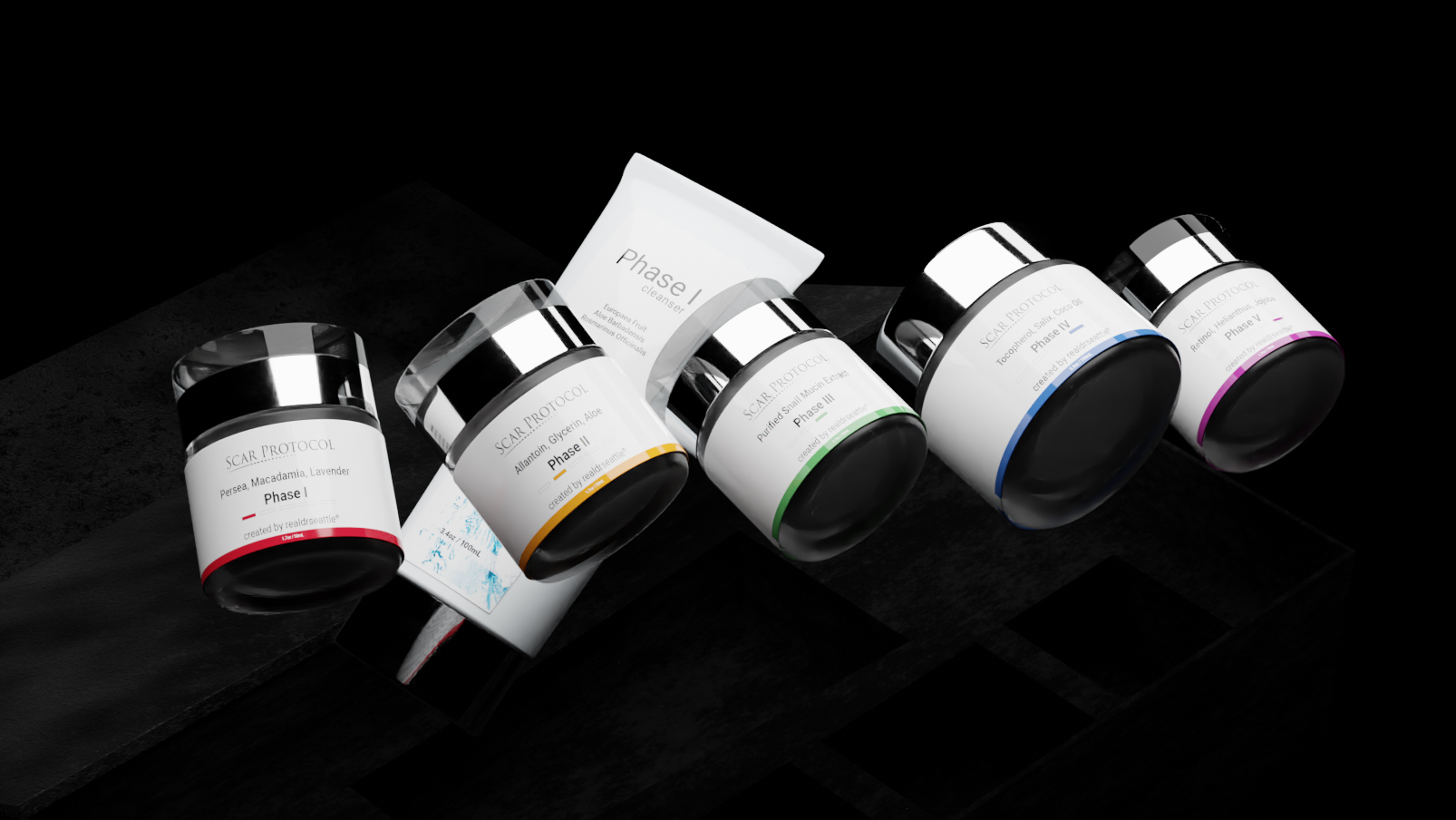 A photo of the best scar cream Scar Protocol Kit