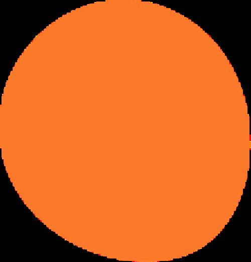 Freeda blob orange