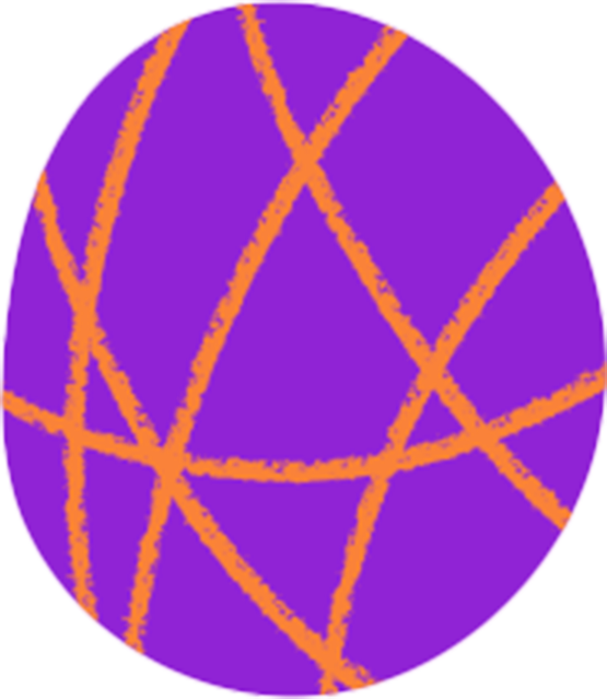 Freeda purple blob