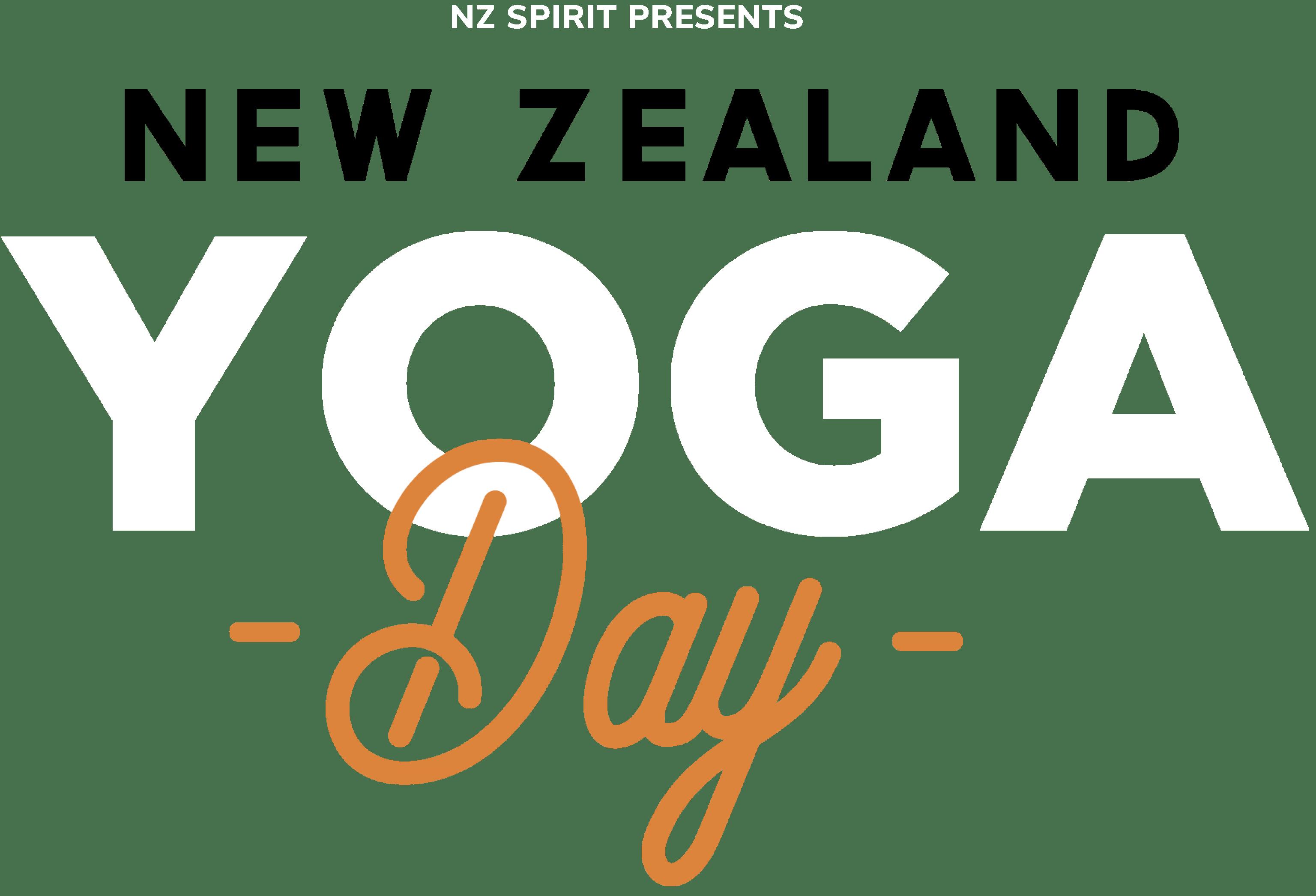 NZ Yoga day logo
