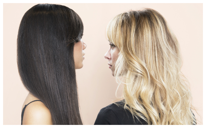 cheveux abîmés ou fragile
