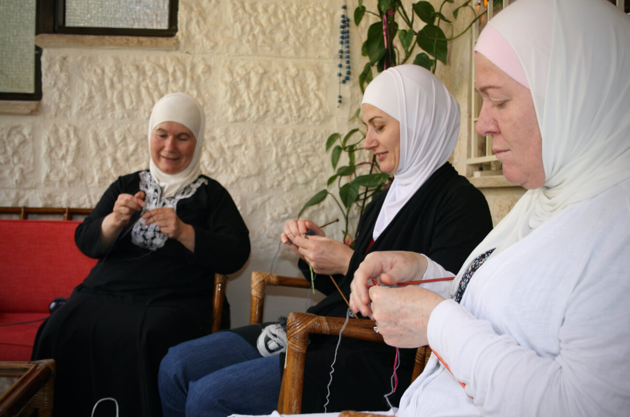 knitting for freedom: empowering refugees through employment