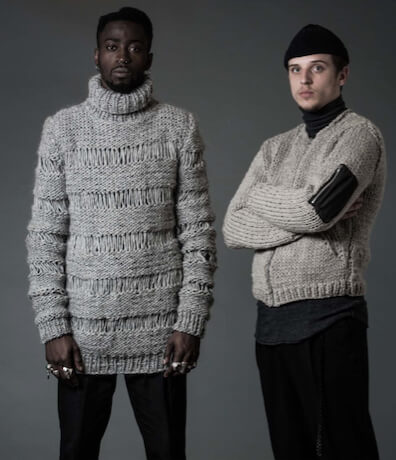 Capsule menswear collection from Guðrun & Guðrun with a hint of ACF