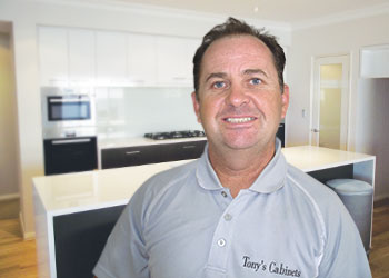 Tony Harrington from Tony's Cabinets - Kitchen Renovations