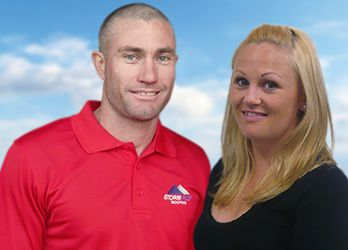 Luke and Georgina from Stormproof Roofing WA Tiled Roof Restoration & Repairs