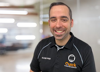 Oliver Pion from Quick Computers - Computer Services
