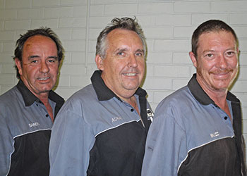 Adrian and his team from Adrian's Balcatta Car Care Centre