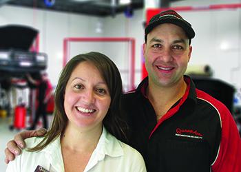 John and Emma Papas Quickshift Autos - Automotive Repairs & Servicing