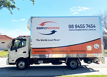 Simply Movers moving van - Removals