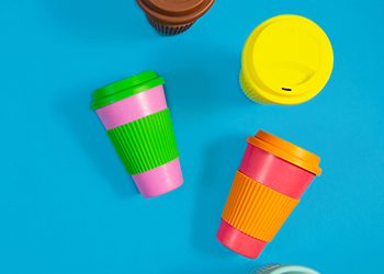 Reuseable coffee cups