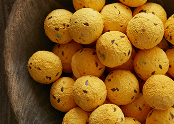 yellow seed bombs
