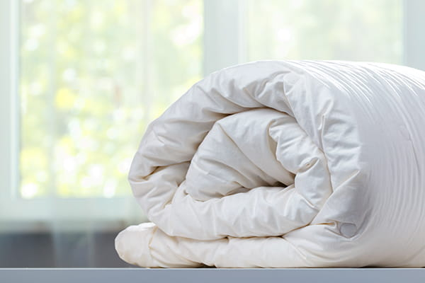 When was the last time you washed your doona?