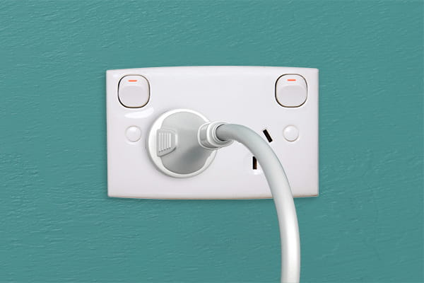 Prepare your working-from-home area with extra power points and efficient lighting