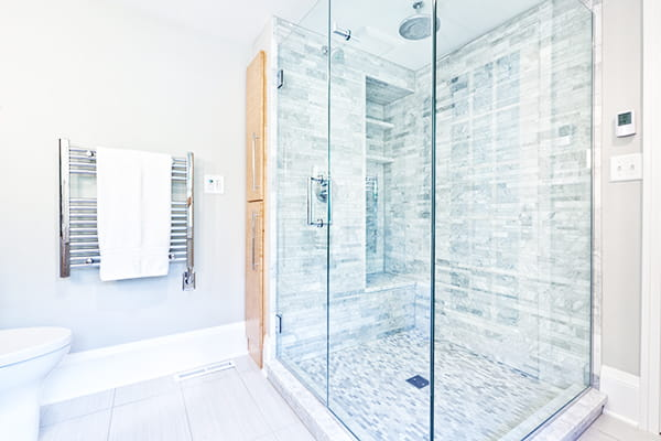 One bathroom upgrade that saves cleaning time