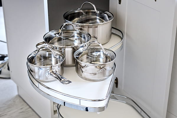 6 helpful storage tips for your new kitchen