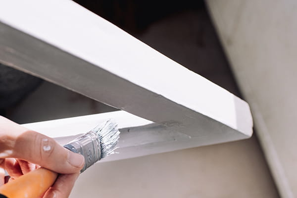 Paint your timber window frames and protect them from water damage