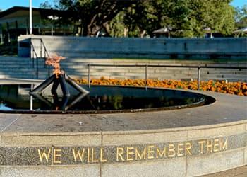 Kings Park war memorial