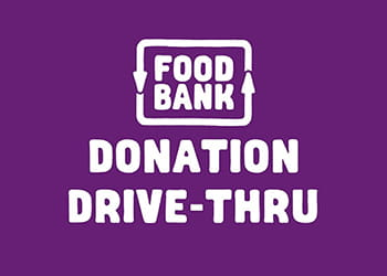 Foodbank drive-thru logo