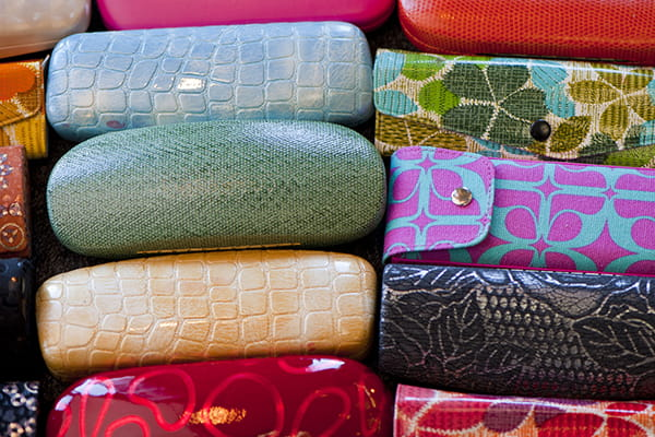 Variety of eyeglass cases
