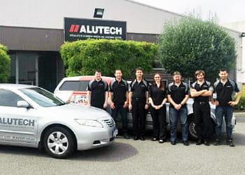 The Alutech team - Security Screens