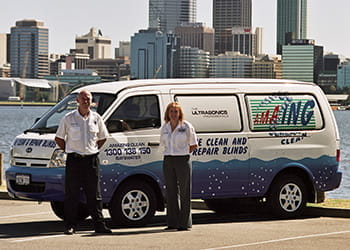 The Amazing Clean Blinds Bayswater team and van - Blinds Cleaning & Maintenance