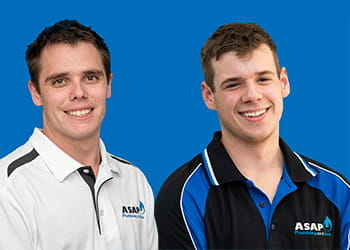 Luke and Jacob from ASAP Plumbing and Gas