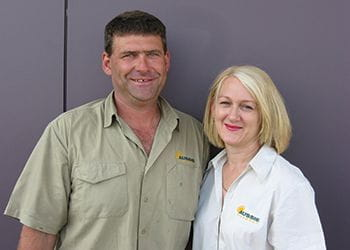 Dean and Lisa Petkovich from Aussie Outdoor Bibra Lake - Outdoor Blinds & Shutters