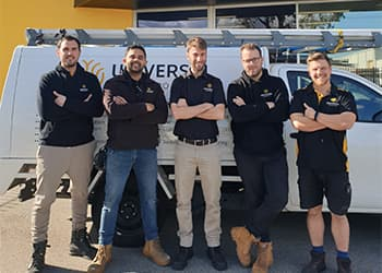 The team at Universal ElectroTech - Security Systems
