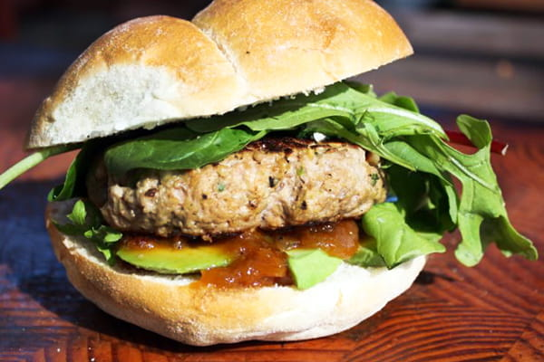 Pork-Beef burger