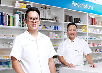 Steph & Nick Ng from Cockburn Super Clinic Pharmacy
