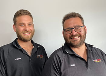 Kieran and Matt from Core Build West - Building Services