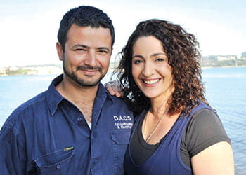 Rob and Lidia from DACS Air-Conditioning
