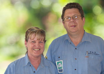 Eddy and Rose from E&R Carpet Cleaners