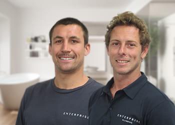 Bradley and James from Enterprise Bathroom Renovations