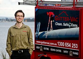 Hamish from Gutter-Vac Perth - Gutter Cleaning