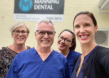 The team at Manning Dental - Dental Services