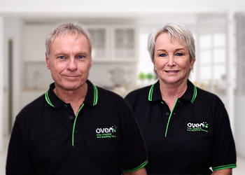 Rob and Elaine from Ovenu Rivervale - Oven Detailing
