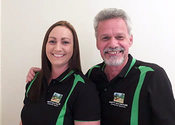 Tom and Rachael from Pretty as a Picture Gardening Services