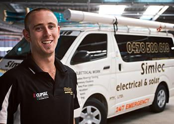 Simon from Simlec Electrical & Solar