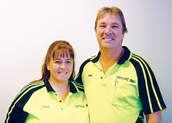 Rosalie and Frank from South Metro Glass & Glazing - Glass Services