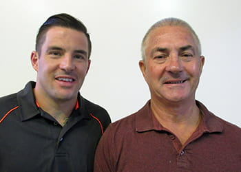 Paul and Kieran Thompson from Stylewise Custom Cabinets - Kitchen Renovations